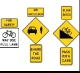 Shared Roadway with Safety Treatments