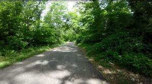 PBT paved section