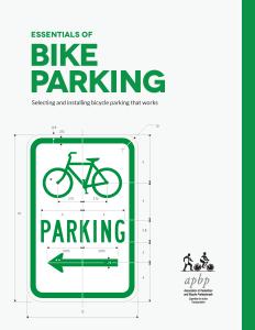 Essentials of Bike Parking cover