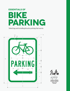 Essentials of Bike Parking cover