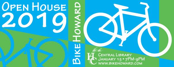 BikeHoward Open House 2019 banner
